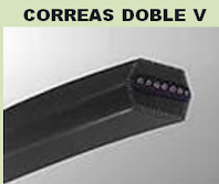 Correas Doble V
