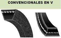 Correas Convencionales en V